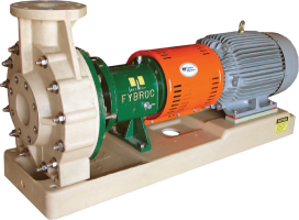1500 Series Fiberglass Horizontal ANSI Pumps