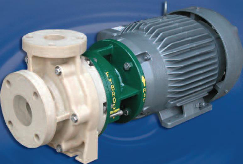 Fybroc 2530 series fiberglass magnetic driven pumps at el for Castellano electric motors inc