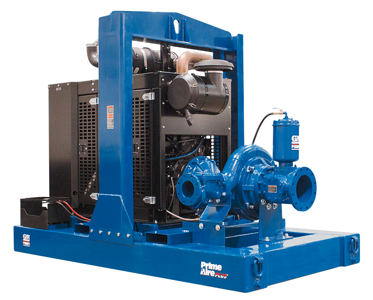Gorman rupp trailer and skid mounted self priming pumps at for Castellano electric motors inc