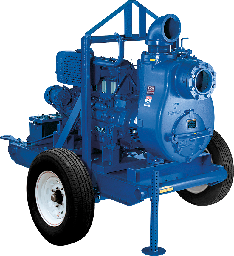 Gorman Rupp Trailer and Skid Mounted Self Priming Pumps at