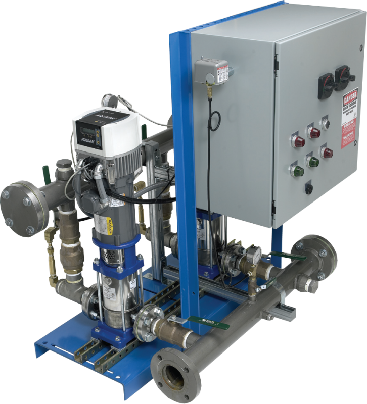 Goulds water technology aquaforce variable speed booster for Castellano electric motors inc