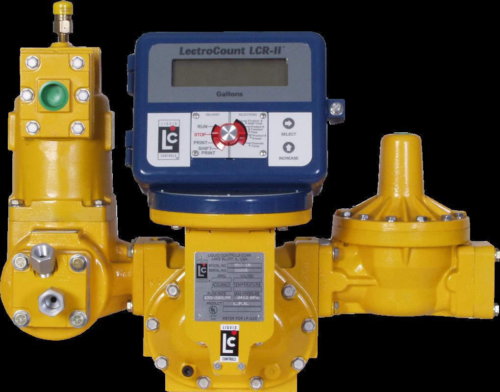 Liquid Controls Positive Displacement Flow Meters At El