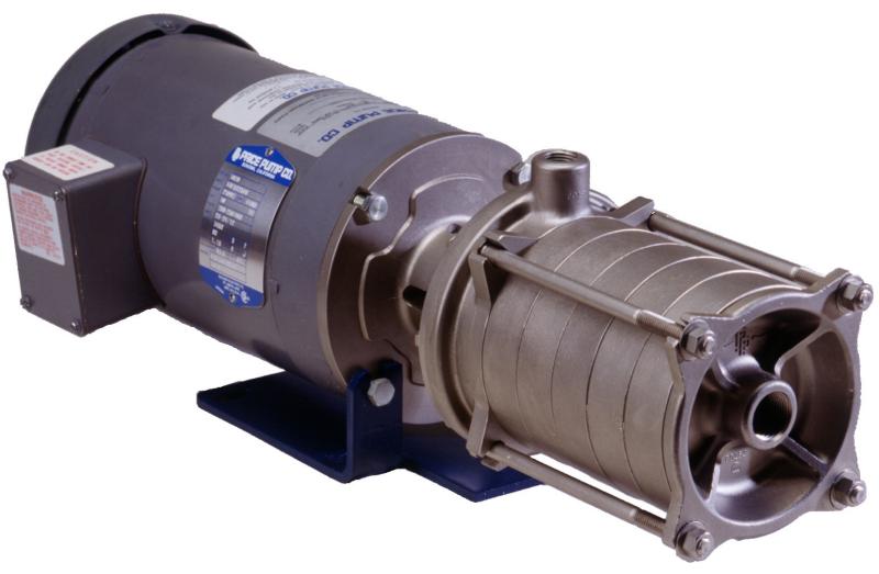 Price pump horizontal vertical multistage pumps at el for Castellano electric motors inc
