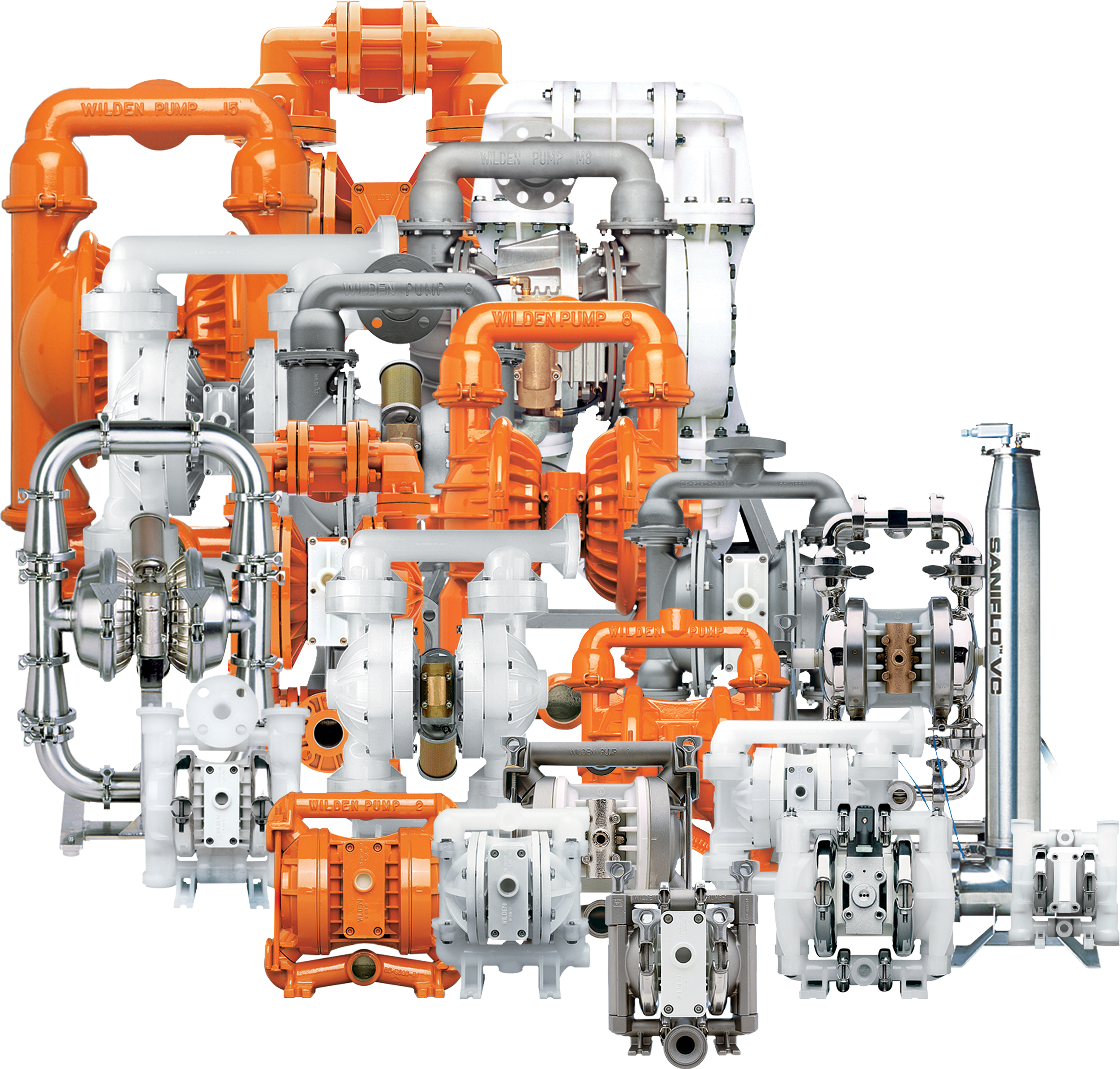 Wilden Air Operated Double Diaphragm Pumps at El Paso Phoenix Pumps